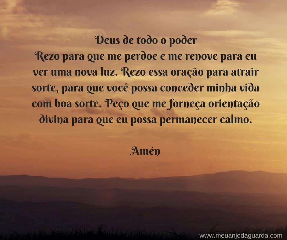 Preferência Oração para Atrair Sorte na Vida - Conheça as Mais Poderosas! WC18
