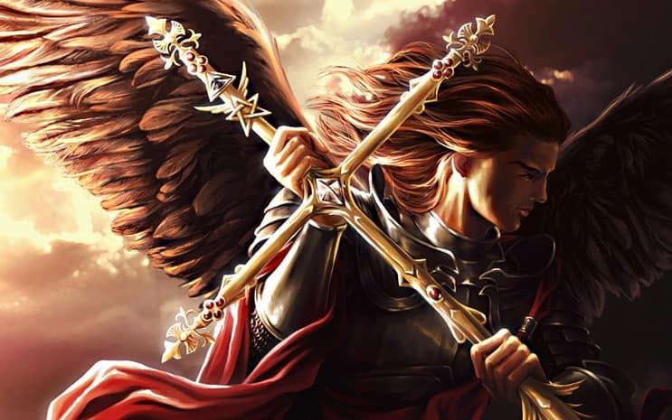 Anjo da guarda Mikael