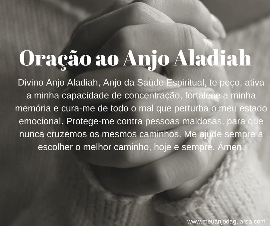 Oração ao Anjo Aladiah