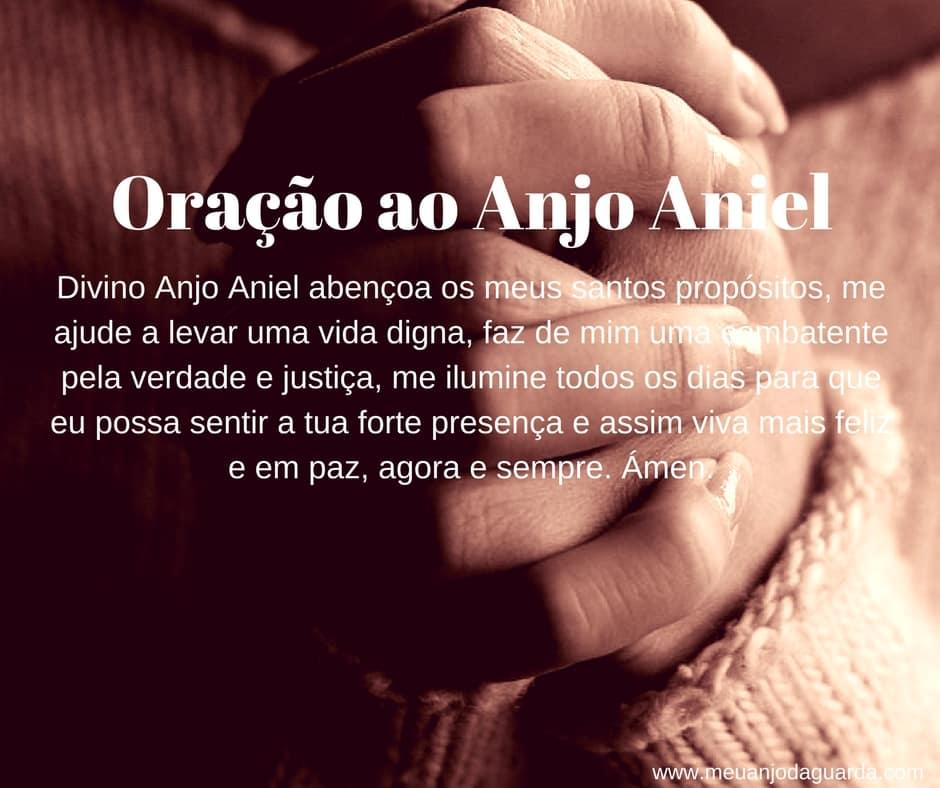 Oração ao Anjo Aniel