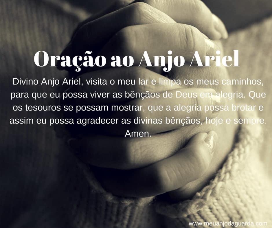 Oração ao Anjo Ariel