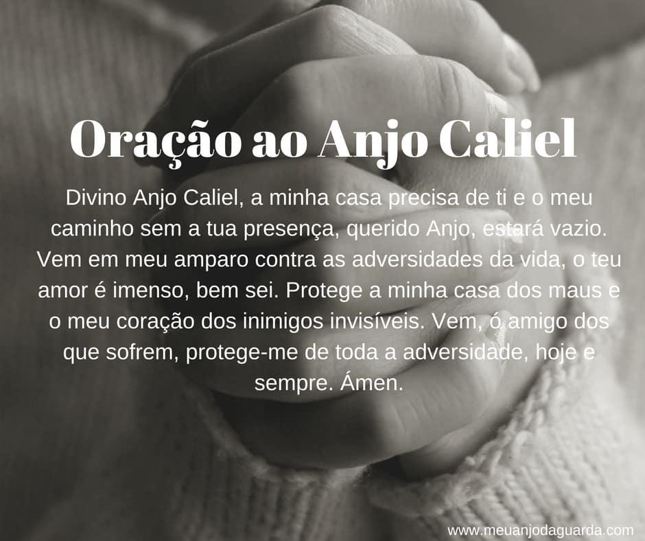Oração ao Anjo Caliel