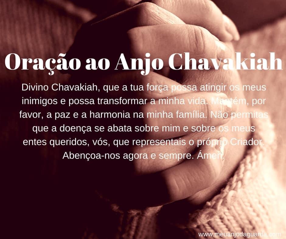 Oração ao Anjo Chavakiah