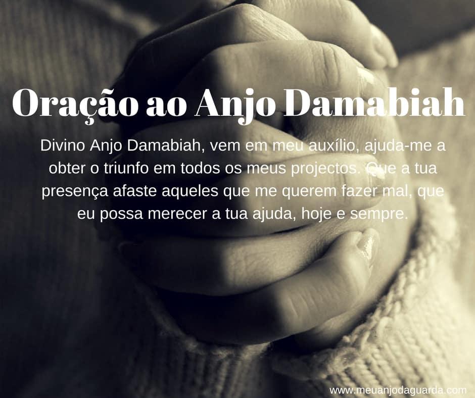 Oração ao Anjo Damabiah