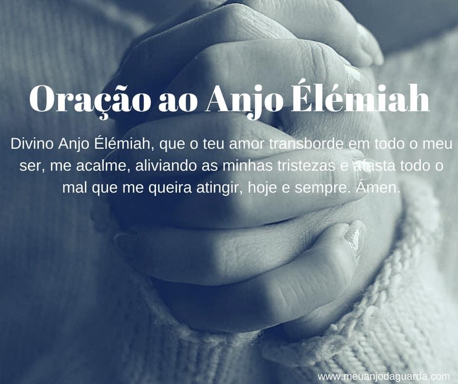 Oração ao Anjo Élémiah