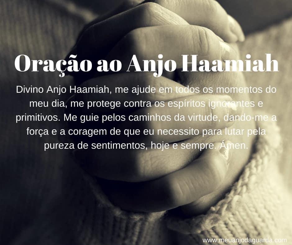 Oração ao Anjo Haamiah