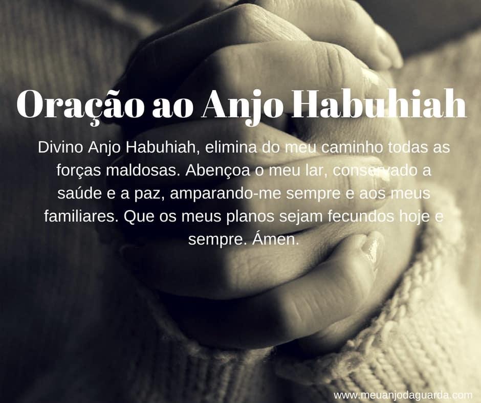 Oração ao Anjo Habuhiah