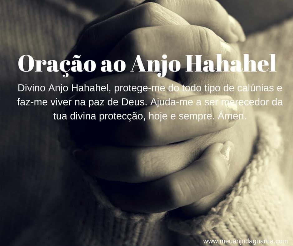 Oração ao Anjo da guarda Hahahel