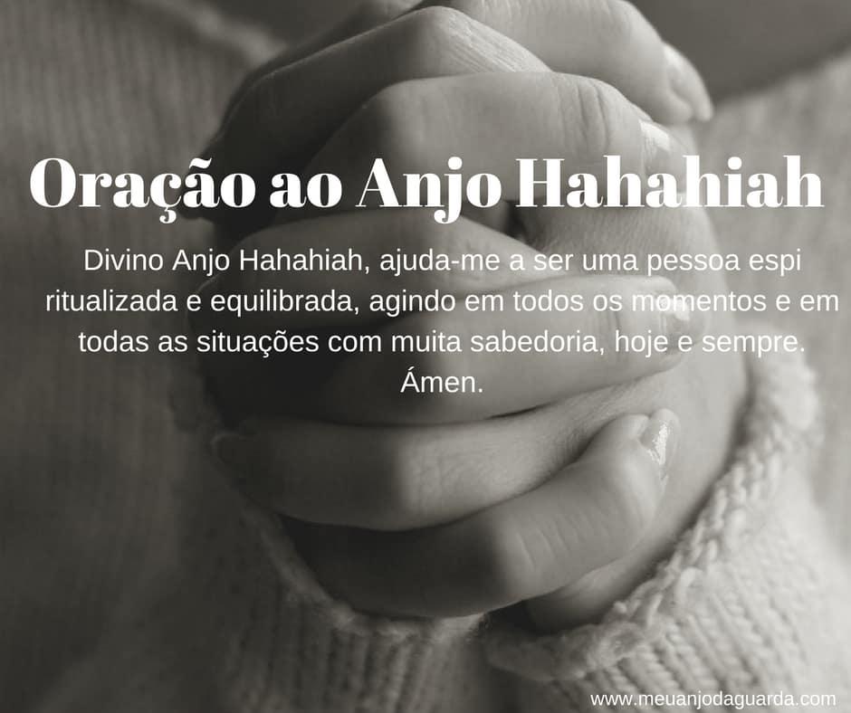 Oração ao Anjo Hahahiah
