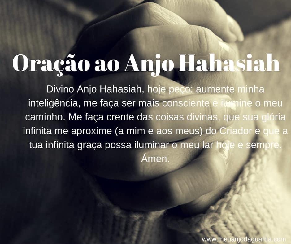 Oração ao Anjo Hahasiah