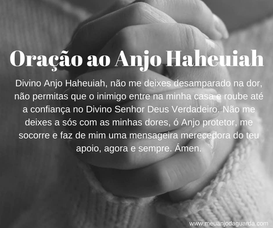 Oração ao Anjo Haheuiah