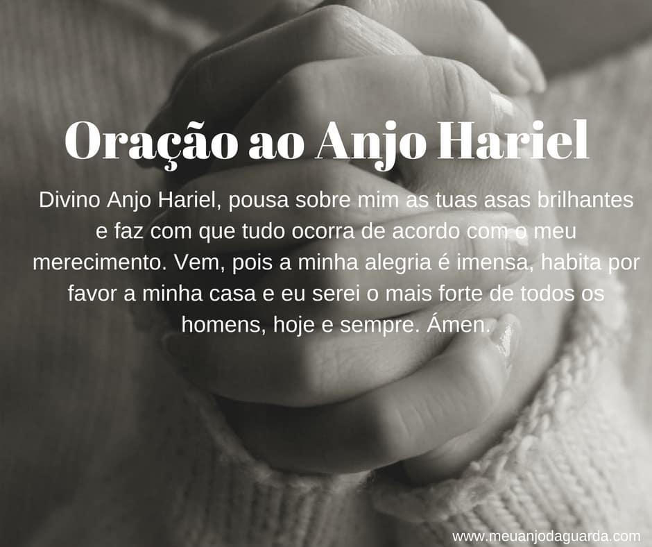 Oração ao Anjo Hariel