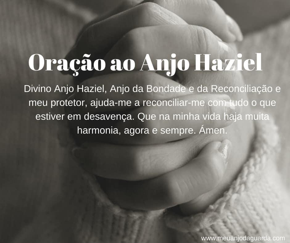 Oração ao Anjo Haziel