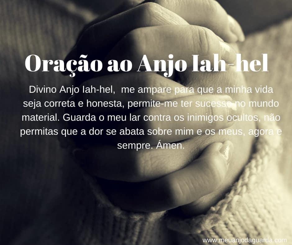 Oração ao Anjo Iah-hel