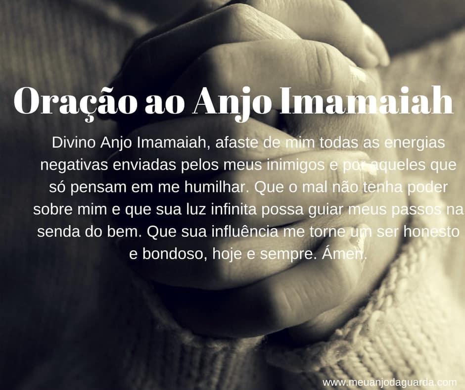 Oração ao Anjo Imamaiah