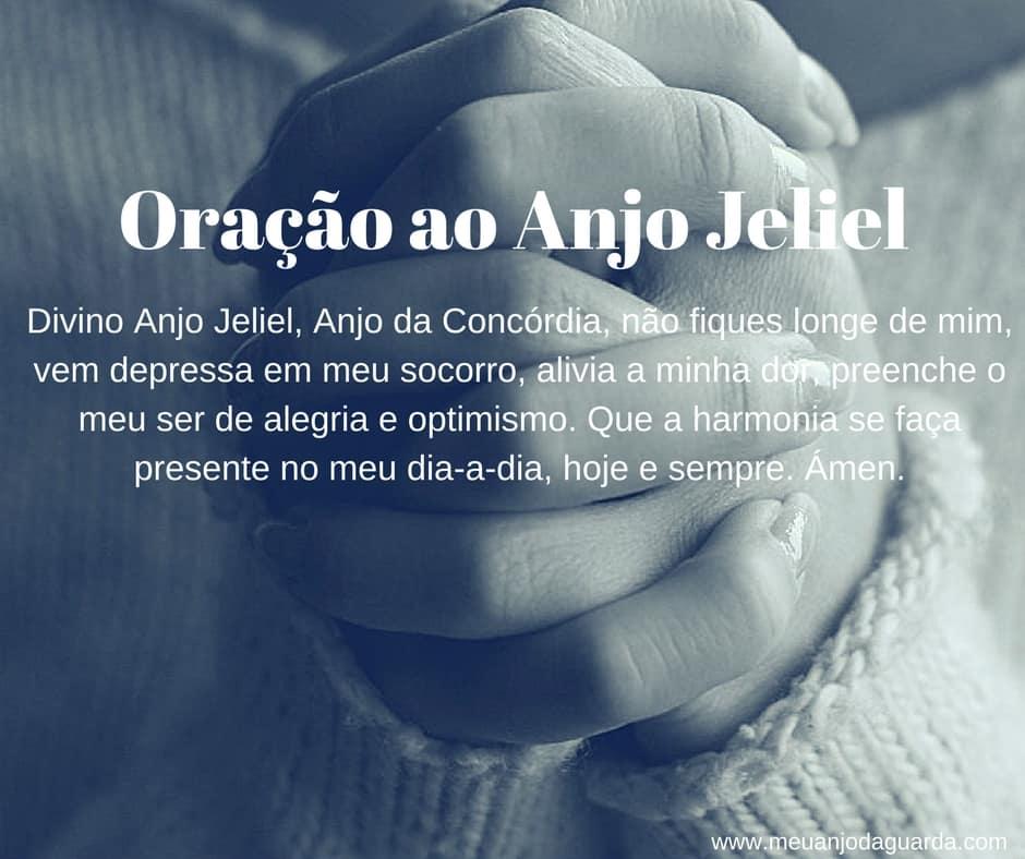 Oração ao Anjo Jeliel