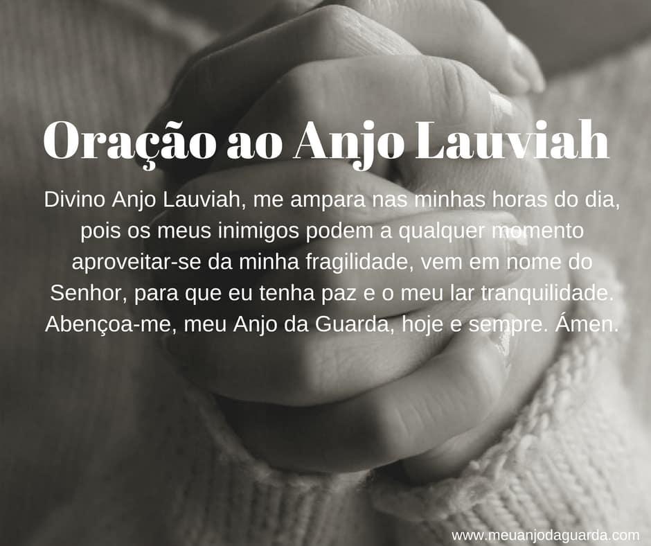 Oração ao Anjo Lauviah