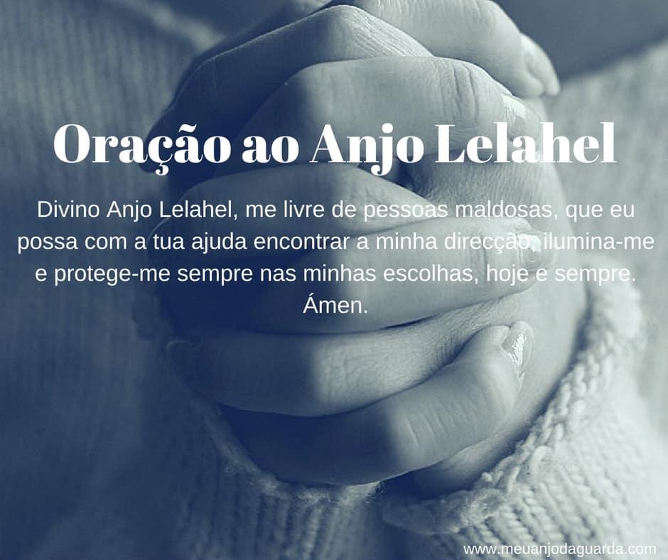 Oração ao Anjo Lelahel