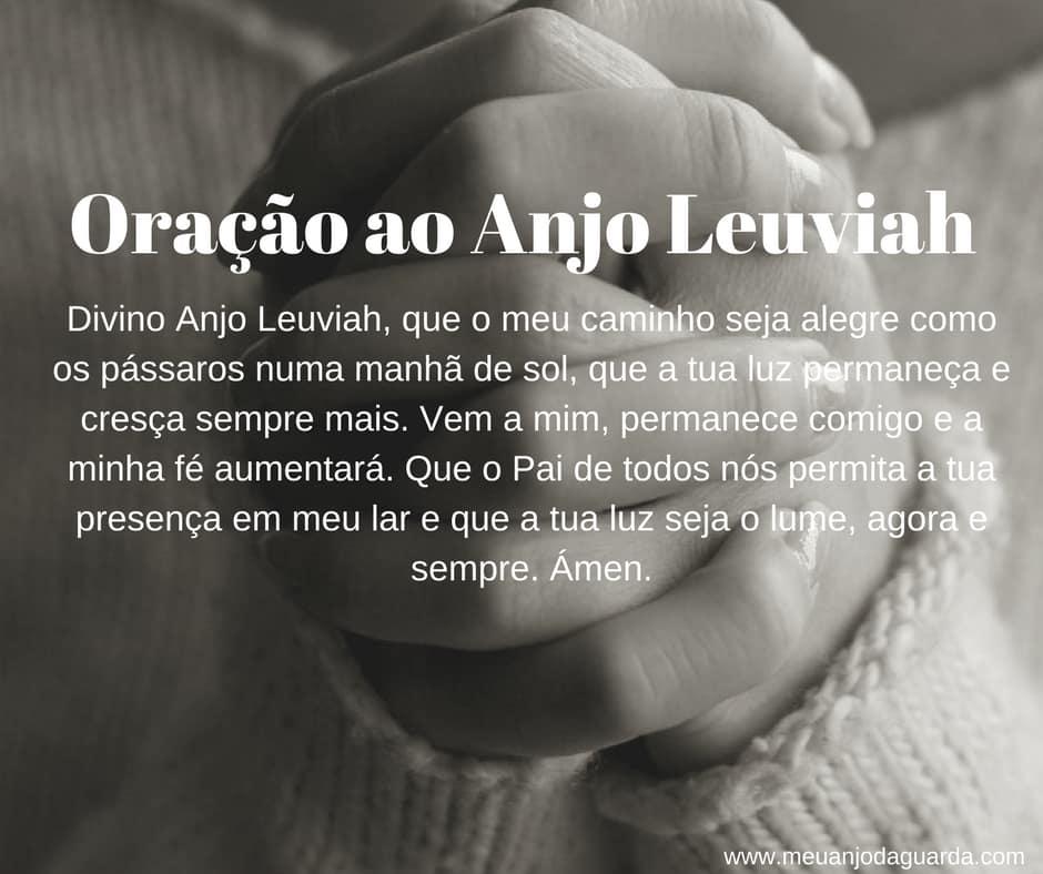 Oração ao Anjo Leuviah