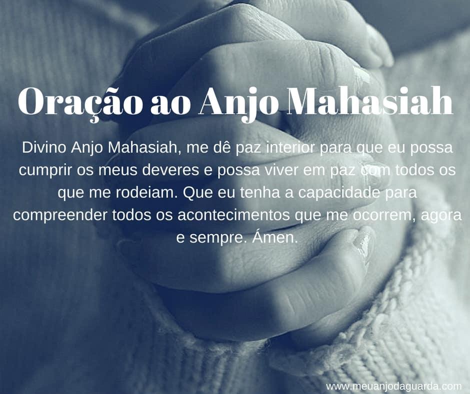 Oração ao Anjo Mahasiah