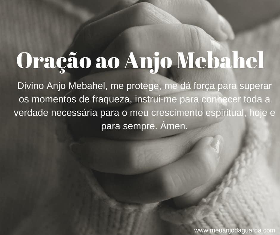 Oração ao Anjo Mebahel