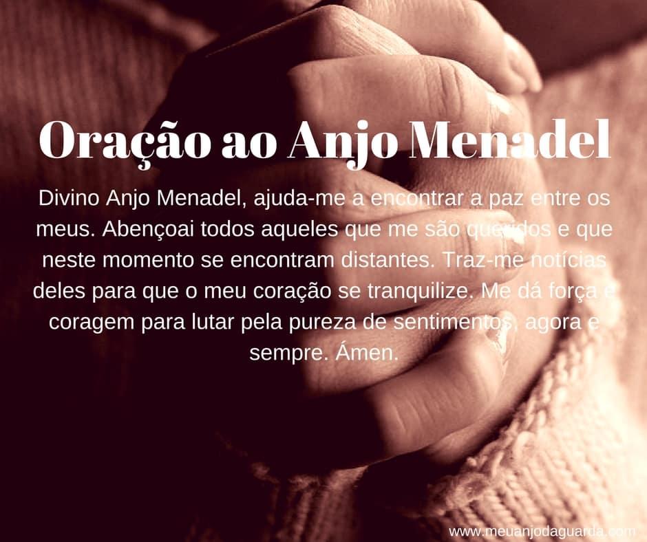 Oração ao Anjo Menadel