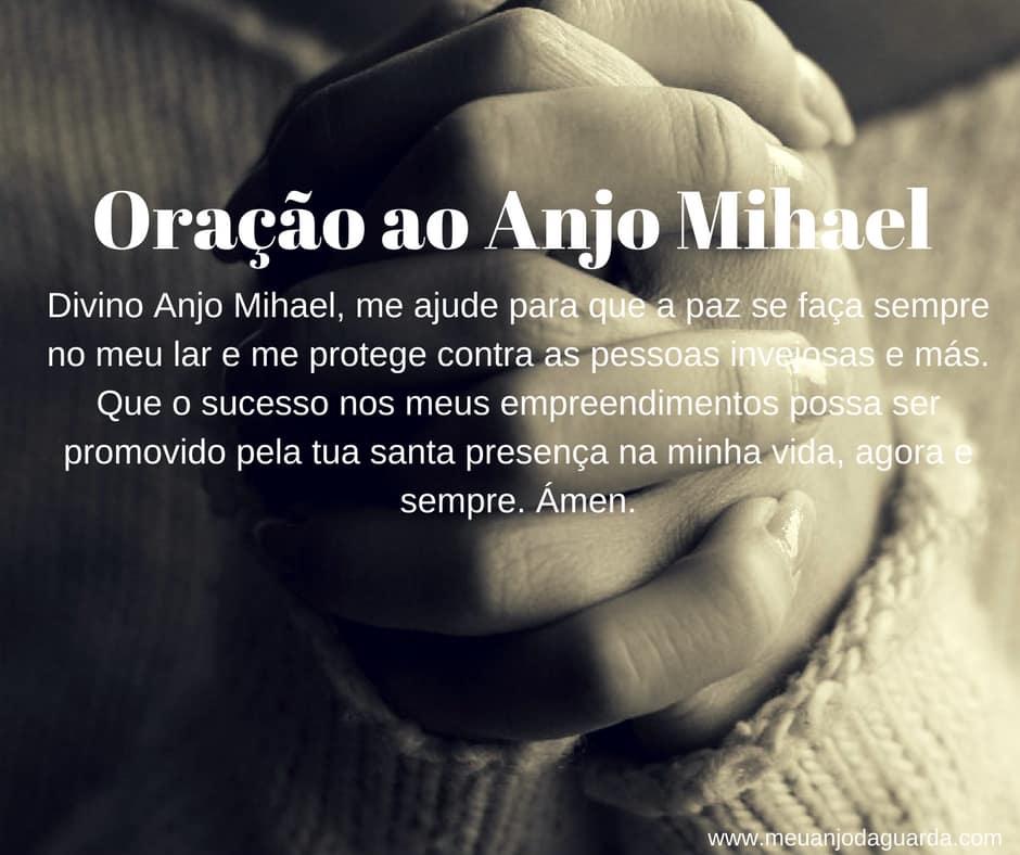 Oração ao Anjo Mihael