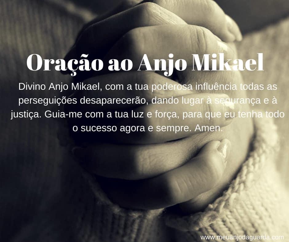 Oração ao Anjo Mikael