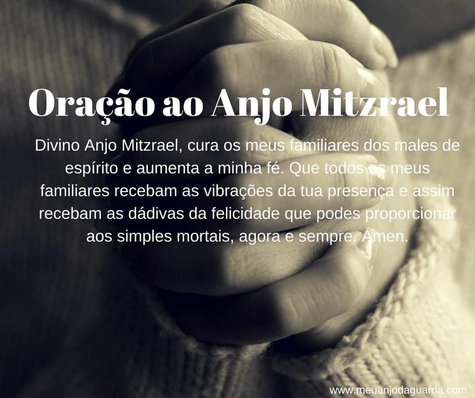Oração ao Anjo Mitzrael