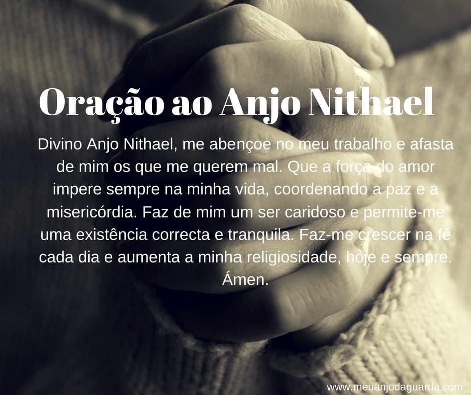 Oração ao Anjo Nithael