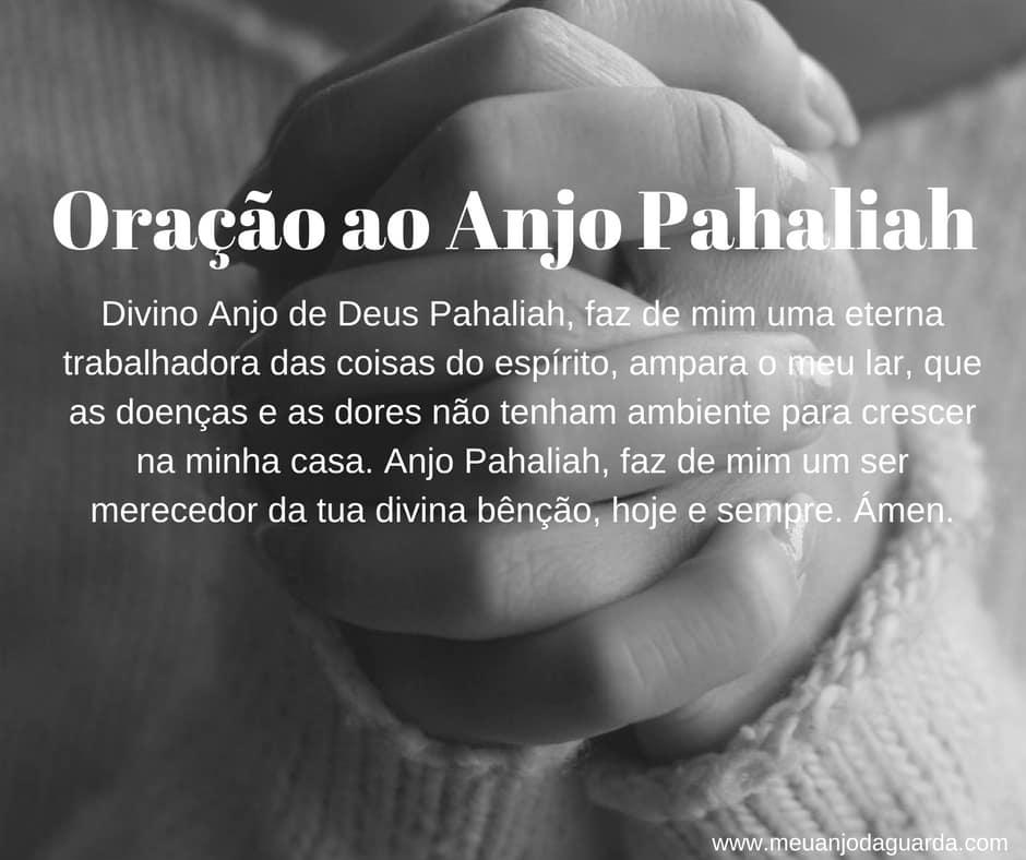 Oração ao Anjo Pahaliah
