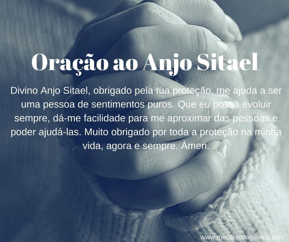 Oração ao Anjo Sitael