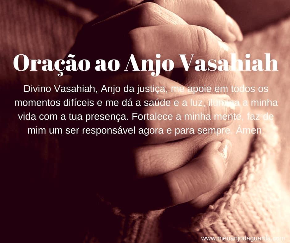 Oração ao Anjo Vasahiah