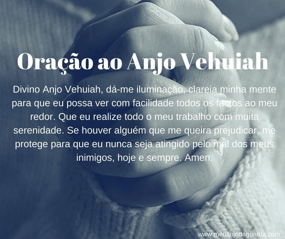 Oração ao Anjo Vehuiah