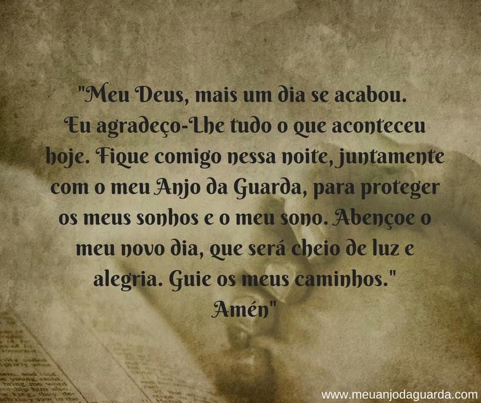 oração para a noite