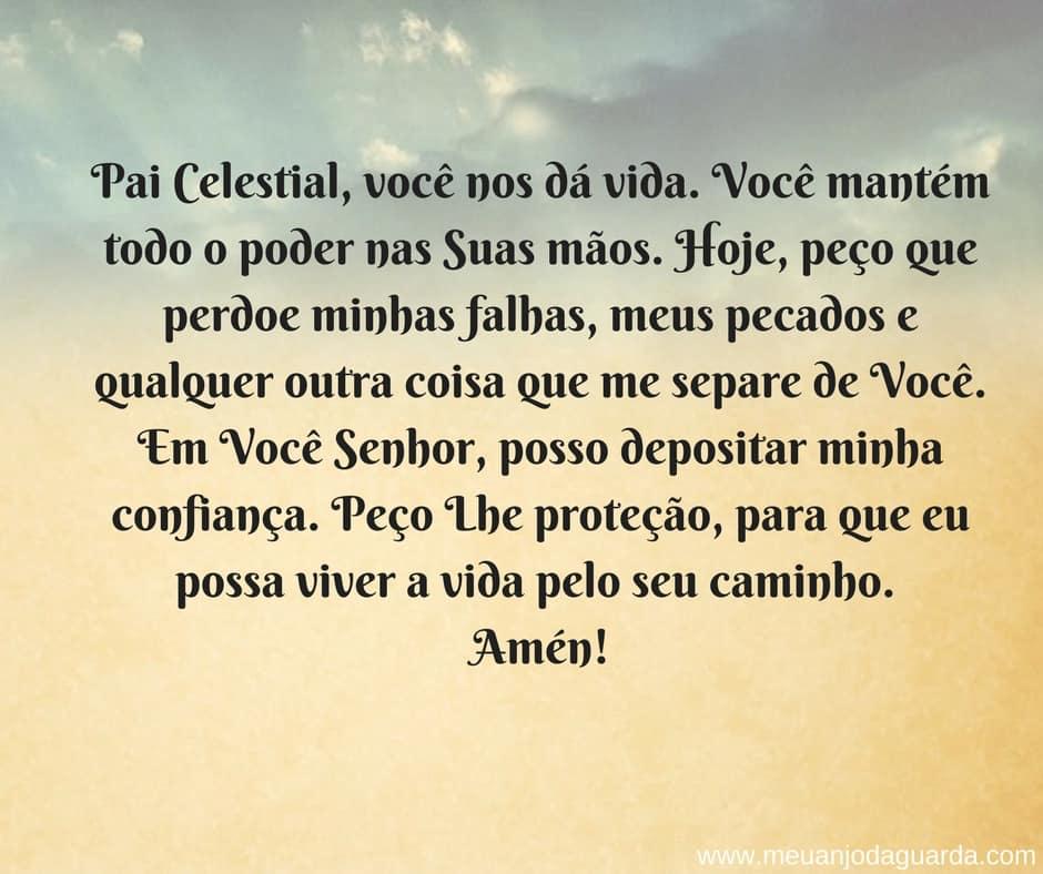 oração para proteção