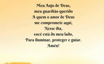 oração do anjo da guarda