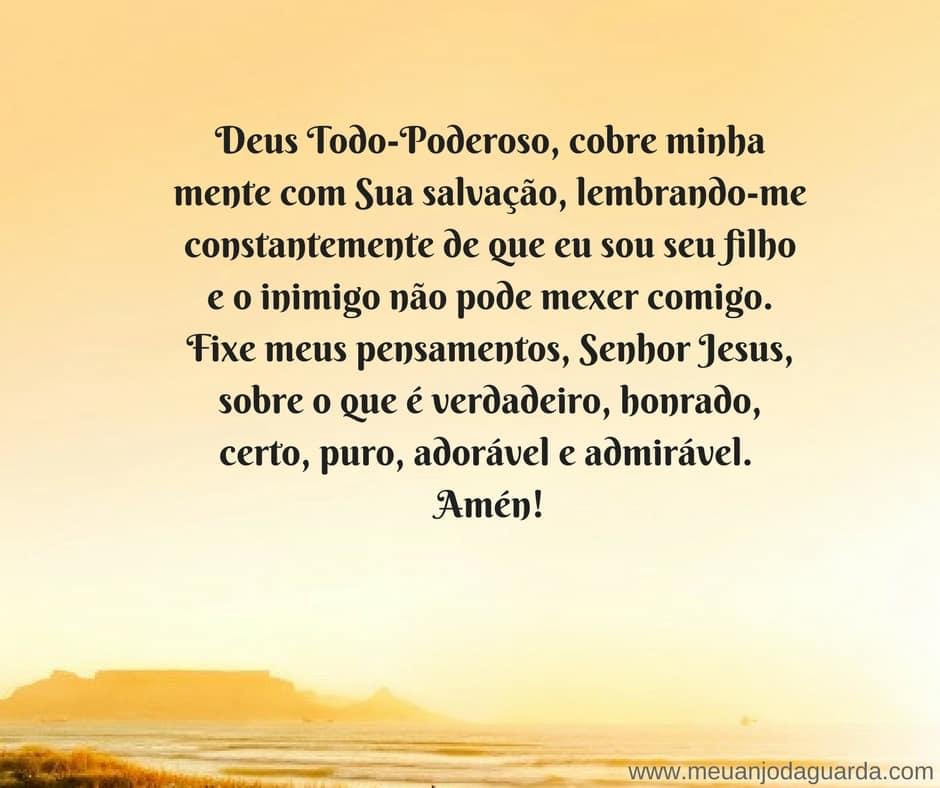 oração para afastar inimigos