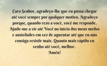 oração para ansiedade