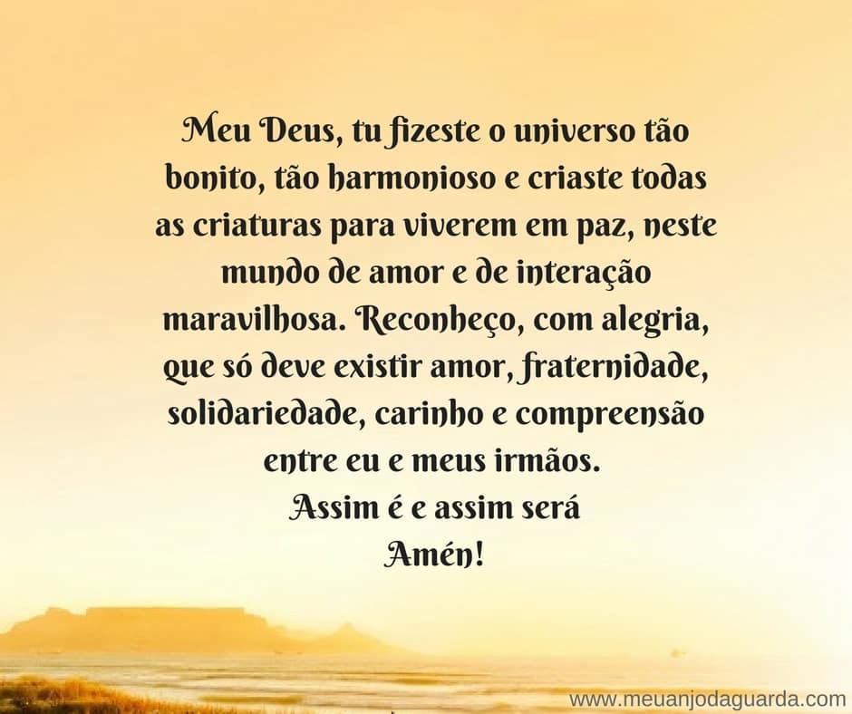 Oração Pelos Irmãos Para Proteção E Paz Em Suas Vidas