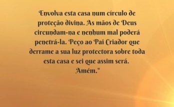 oração da casa