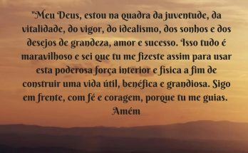 oração do jovem