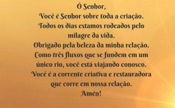 oração do casal