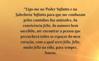 oração do namoro