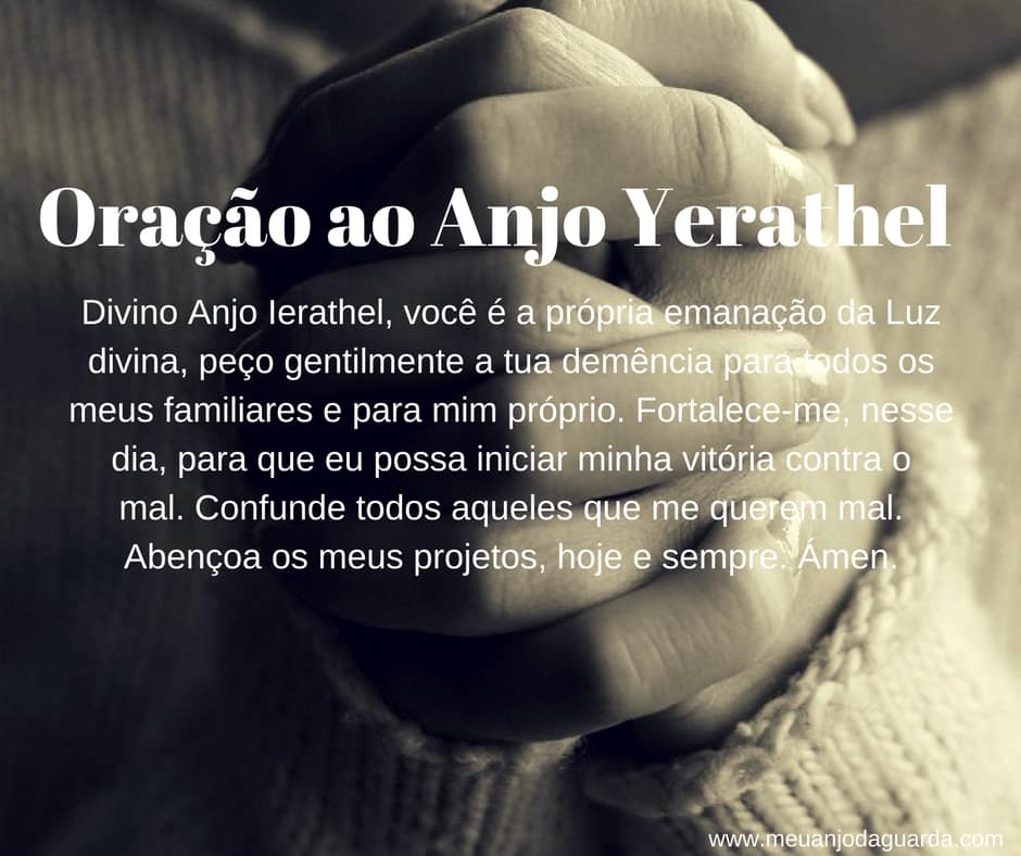 Oração ao Anjo Yerathel