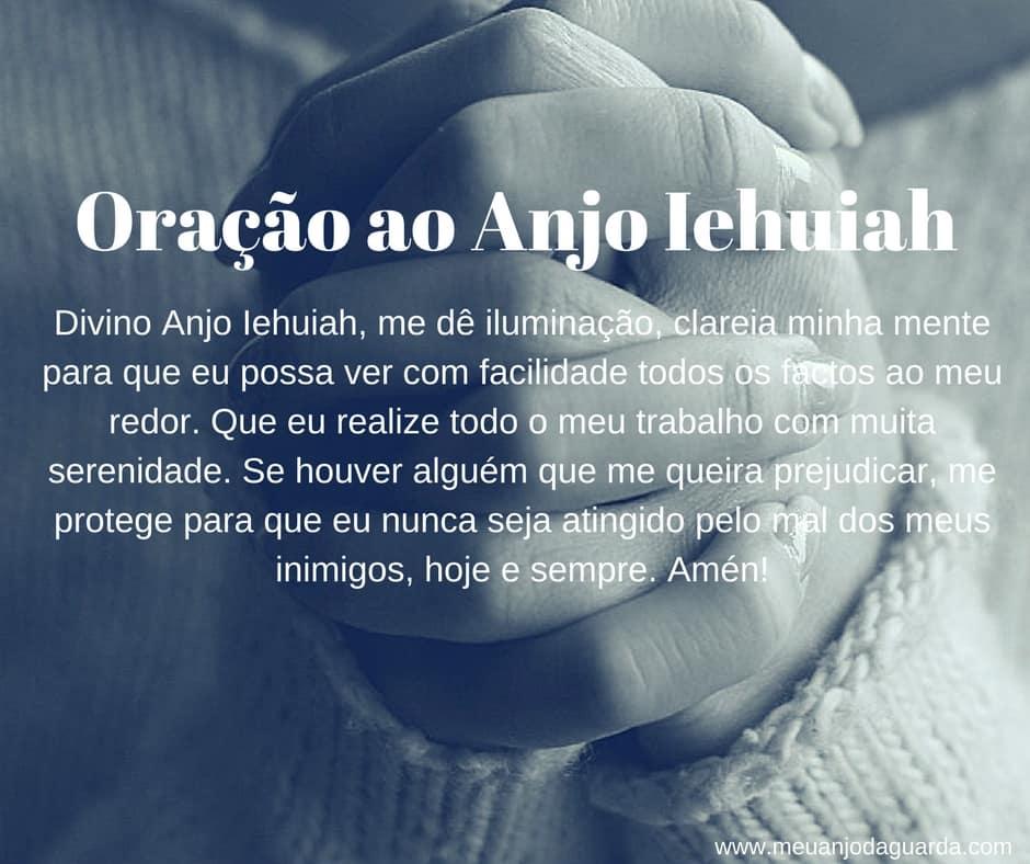Oração ao Anjo Iehuiah