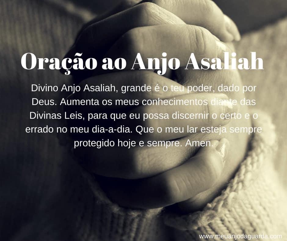 Oração ao Anjo Asaliah
