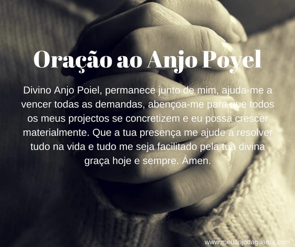Oração ao Anjo Poyel