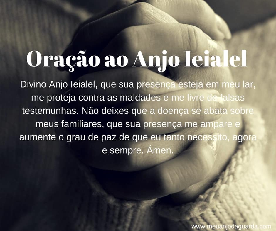 oração ao anjo Ieialel