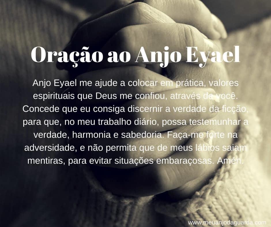 oração ao anjo eyael
